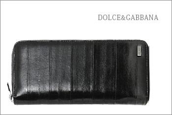 ドルチェ&ガッパーナ-ラウンドファスナー長財布