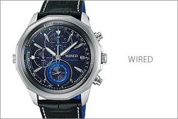 ワイアード腕時計