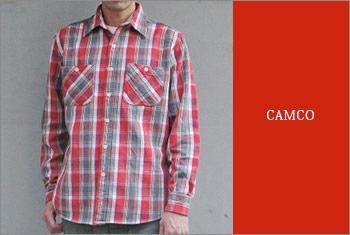 CAMCO-ネルシャツ
