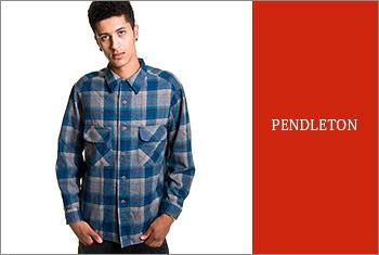 PENDLETON-ネルシャツ