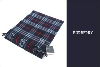 BURBERRYマフら