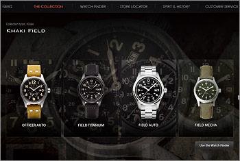 ハミルトン-腕時計