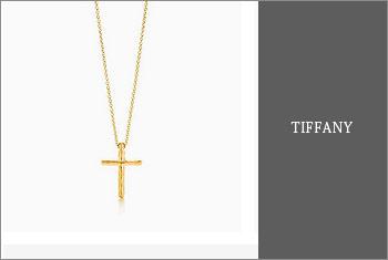 ティファニー-ゴールドネックレス