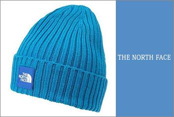 ノースフェイスニット帽子